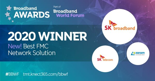 XGSPON Stick won the Best FMC Solution Award at BBWF 2020